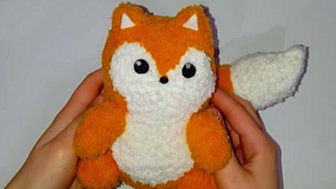 DIY Sock Fox | DIY Joy Projects and Crafts Ideas