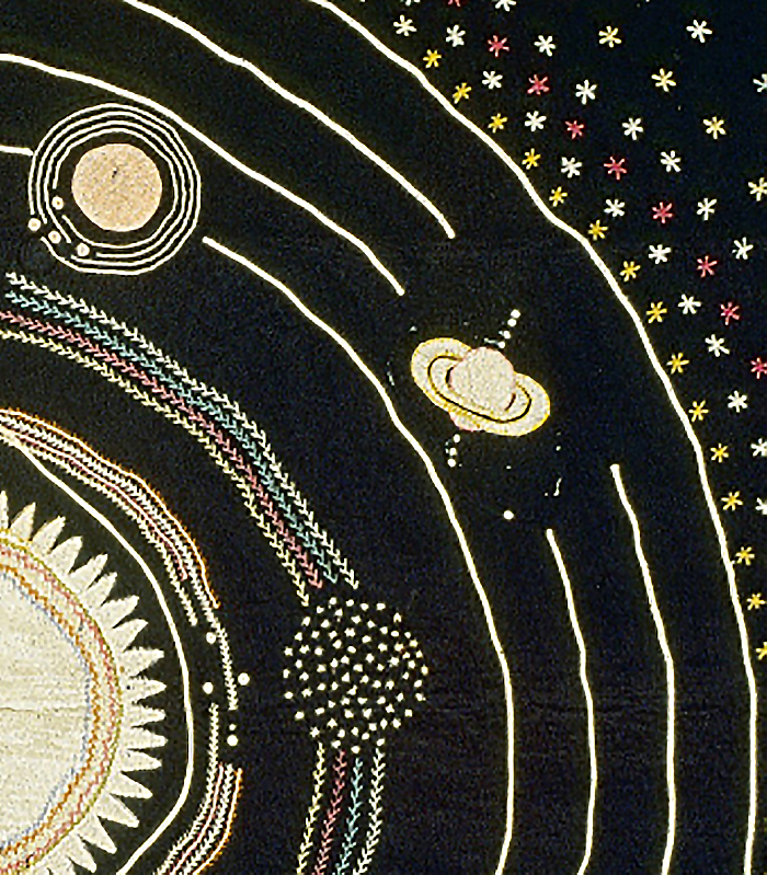 Solar System Quilt Design