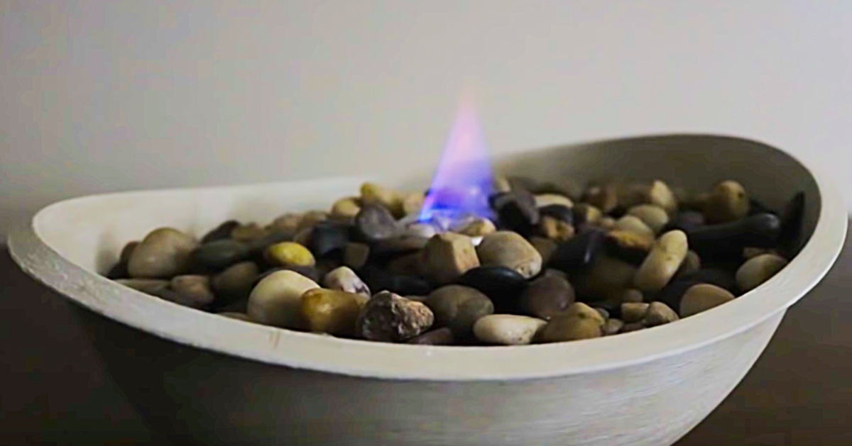 Picture of: Dollar Tree Diy Tabletop Fire Pit