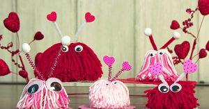 DIY Yarn Love Bugs