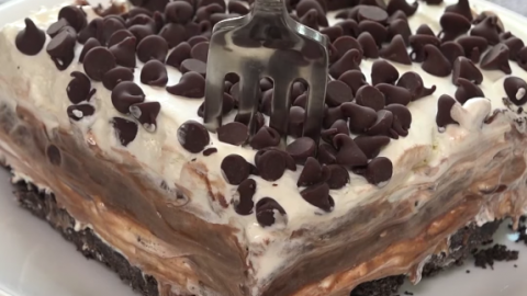 Chocolate Lasagna Recipe | DIY Joy Projects and Crafts Ideas