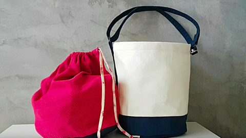 How To Sew A Bucket Bag | DIY Joy Projects and Crafts Ideas