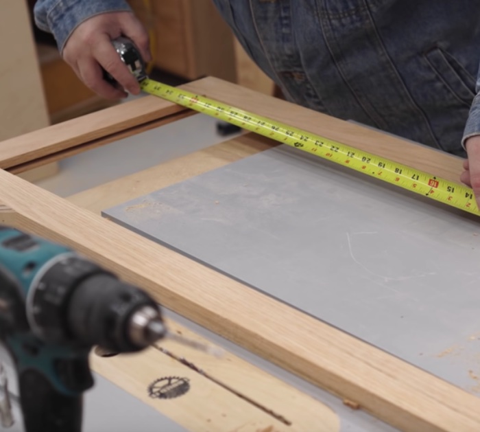 How to make new cabinet doors