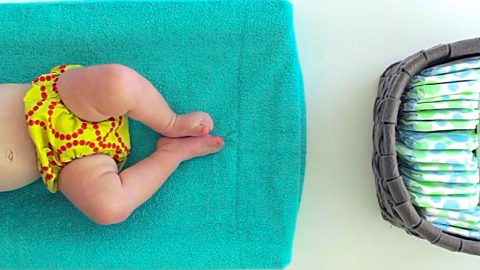 How To Make A Changing Pad Cover From A Towel | DIY Joy Projects and Crafts Ideas