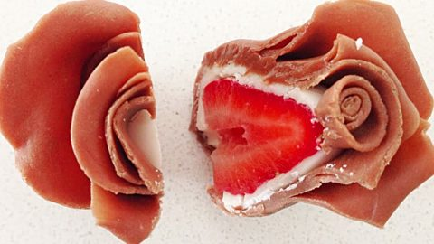 How to Make Chocolate Strawberry Roses | DIY Joy Projects and Crafts Ideas