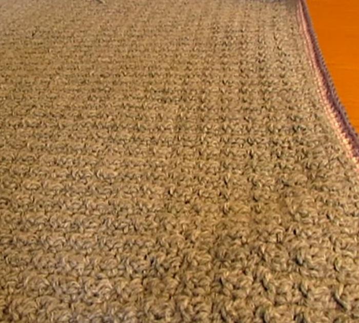 Make a crochet baby blanket