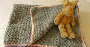 How To Make A Crocheted Baby Blanket