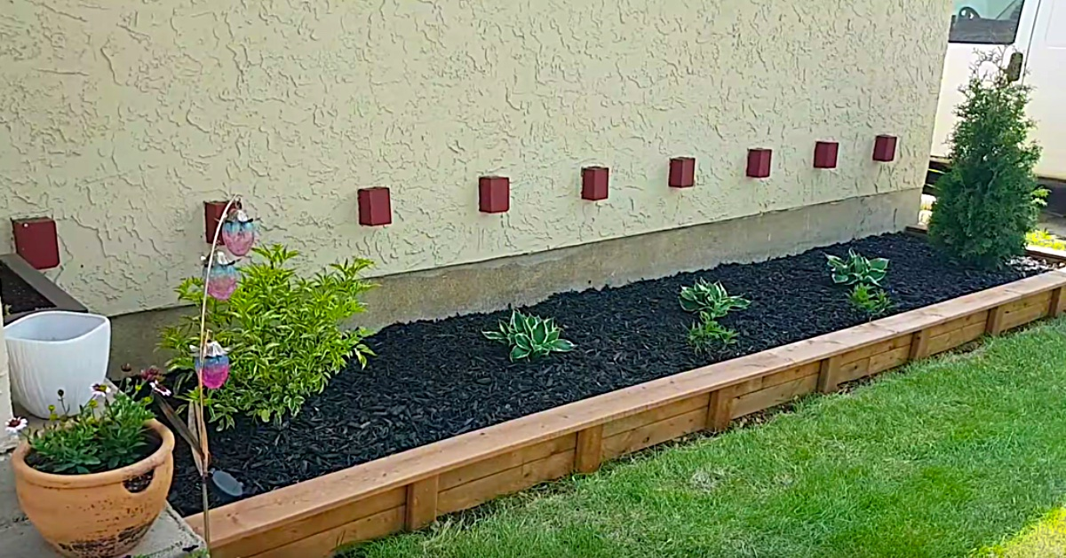 Diy Garden Bed Edging Just About Anyone Can Do