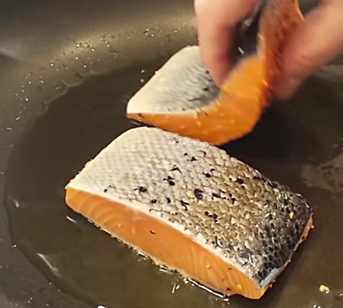 Make ten minute lemon butter salmon recipe