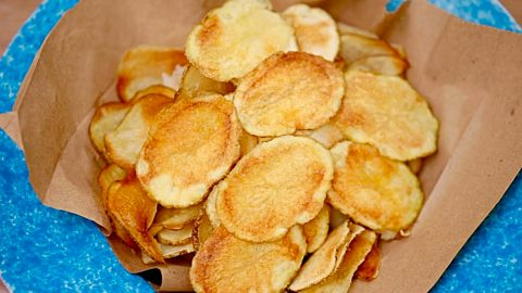 Microwave Potato Chip Recipe | DIY Joy Projects and Crafts Ideas