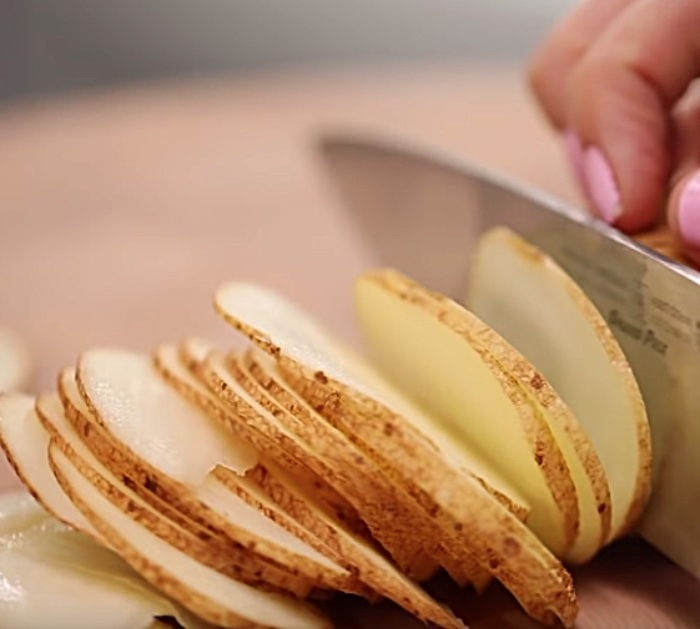 Make Microwave potato chips