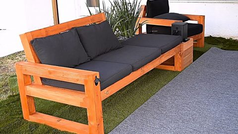 DIY Modern Outdoor Sofa | DIY Joy Projects and Crafts Ideas