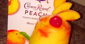Peach Crown Royal Slushie Recipe