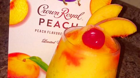 Peach Crown Royal Slushie Recipe | DIY Joy Projects and Crafts Ideas