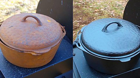 How to Restore Cast Iron | DIY Joy Projects and Crafts Ideas