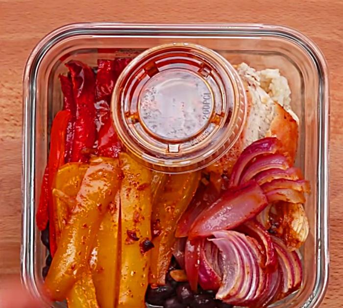Make a sheet pan meal prep of chicken teriyaki or Chipotle Lime Sauce Homemade