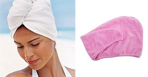 Spa Towel Head Wrap Sewing Tutorial