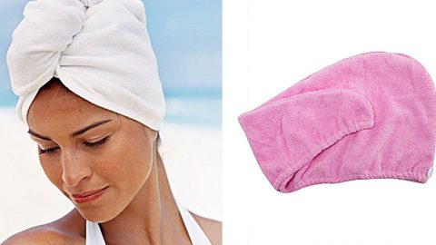 Spa Towel Head Wrap Sewing Tutorial | DIY Joy Projects and Crafts Ideas