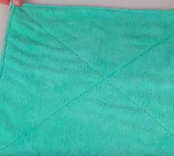 Make a DIY Roll Of unpaper paper towels