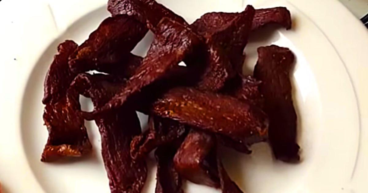 Air Fryer Beef Jerky Recipe