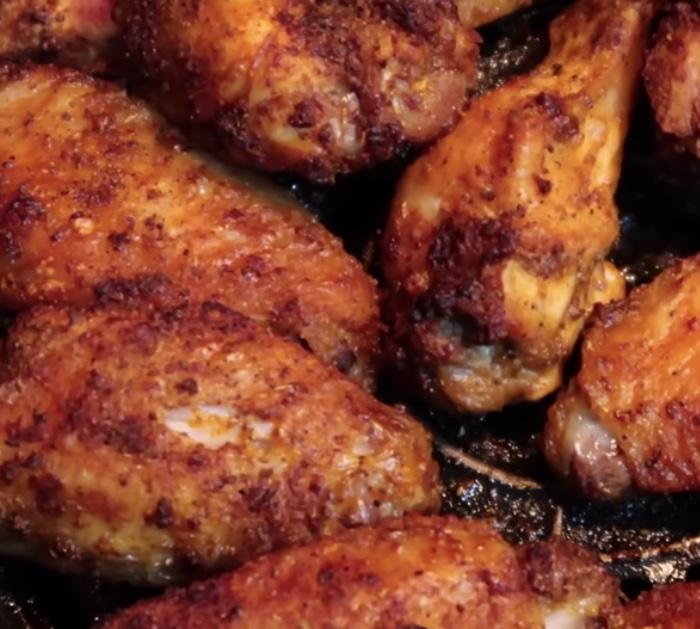 Make beginners air fryer chicken wings with old bay seasoning