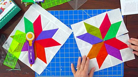 Jenny Doan All Star Quilt Block | DIY Joy Projects and Crafts Ideas