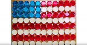American Flag Jello Shots Recipe