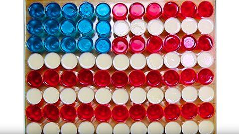 American Flag Jello Shots Recipe | DIY Joy Projects and Crafts Ideas