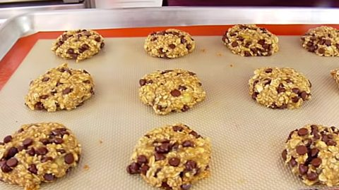 3 Ingredient Banana Oatmeal Breakfast Cookies Recipe | DIY Joy Projects and Crafts Ideas