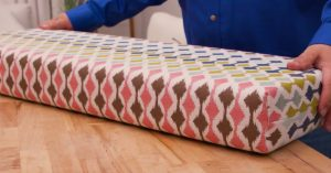How To Make A Box Cushion In 30 Minutes