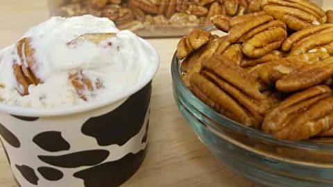 Butter Pecan Keto Mason Jar Ice Cream Recipe   DIY Joy Projects and Crafts Ideas