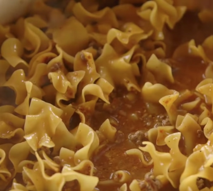 Make Reese Drummond's Beef Noodle Recipe