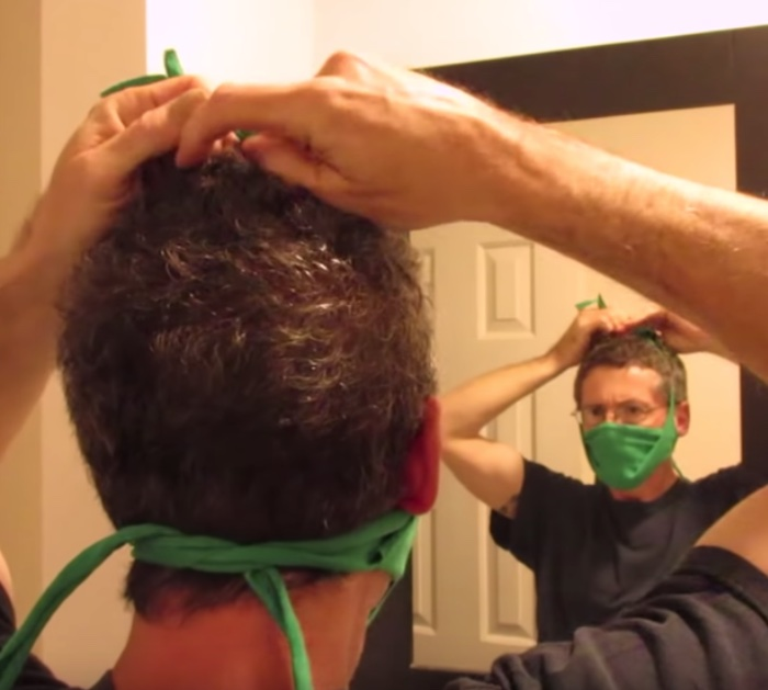Make a DIY Safety Mask for protection