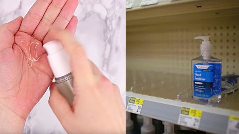 How To Make Hand Sanitizer From The World Health Organization   DIY Joy Projects and Crafts Ideas