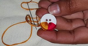 How To Make Hand Embroidered Buttons