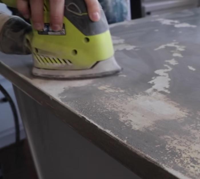 Make faux granite countertops