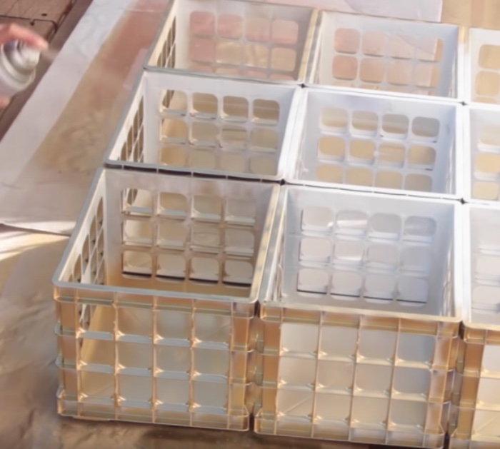 Make a DIY Marble and Gold Organizer with Dollar Tree materials