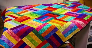 How To Sew A Jelly Roll Quilt
