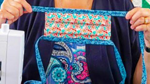 Jenny Doan's Fabric Tie Mask Tutorial | DIY Joy Projects and Crafts Ideas