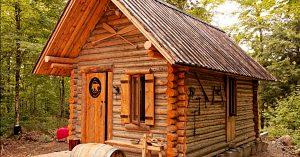 Building A Log Cabin Timelapse