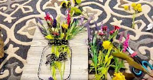How To Make A Mason Jar String Art Vase