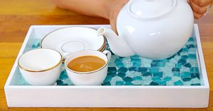 How To Make A Mosaic Tile Serving Tray