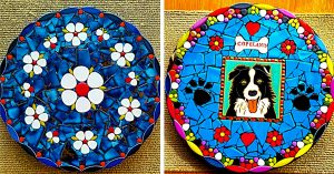 How To Make A Mosaic Stepping Stone