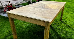 How To Make A Farmhouse Table Out Of Pallets