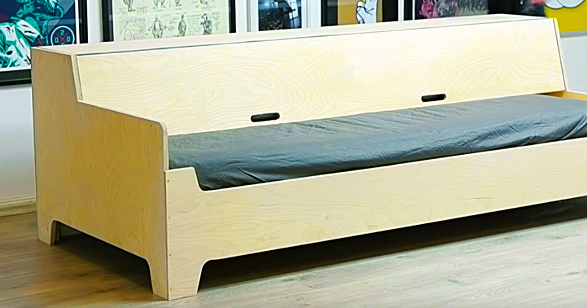 How To Make A Plywood Sofa Bed