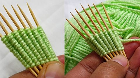 Hand Embroidery Toothpick Tip | DIY Joy Projects and Crafts Ideas