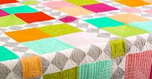 How To Make Four Square Quilt