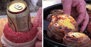 Beer Can Burger Recipe