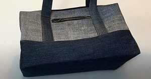 DIY Jeans Handbag