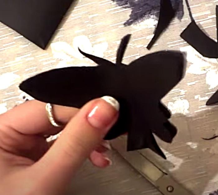 Make a butterfly wall art project